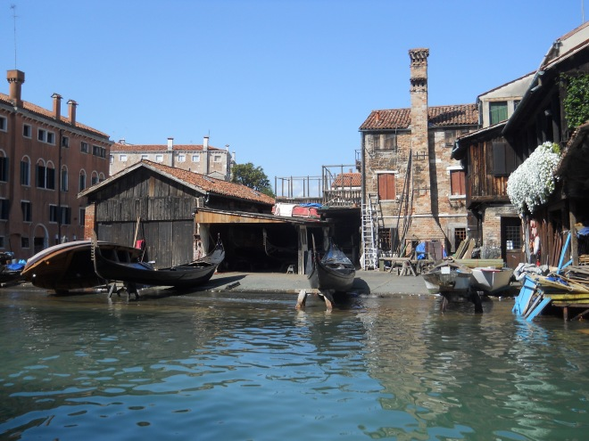 Gondola Repair Shop
